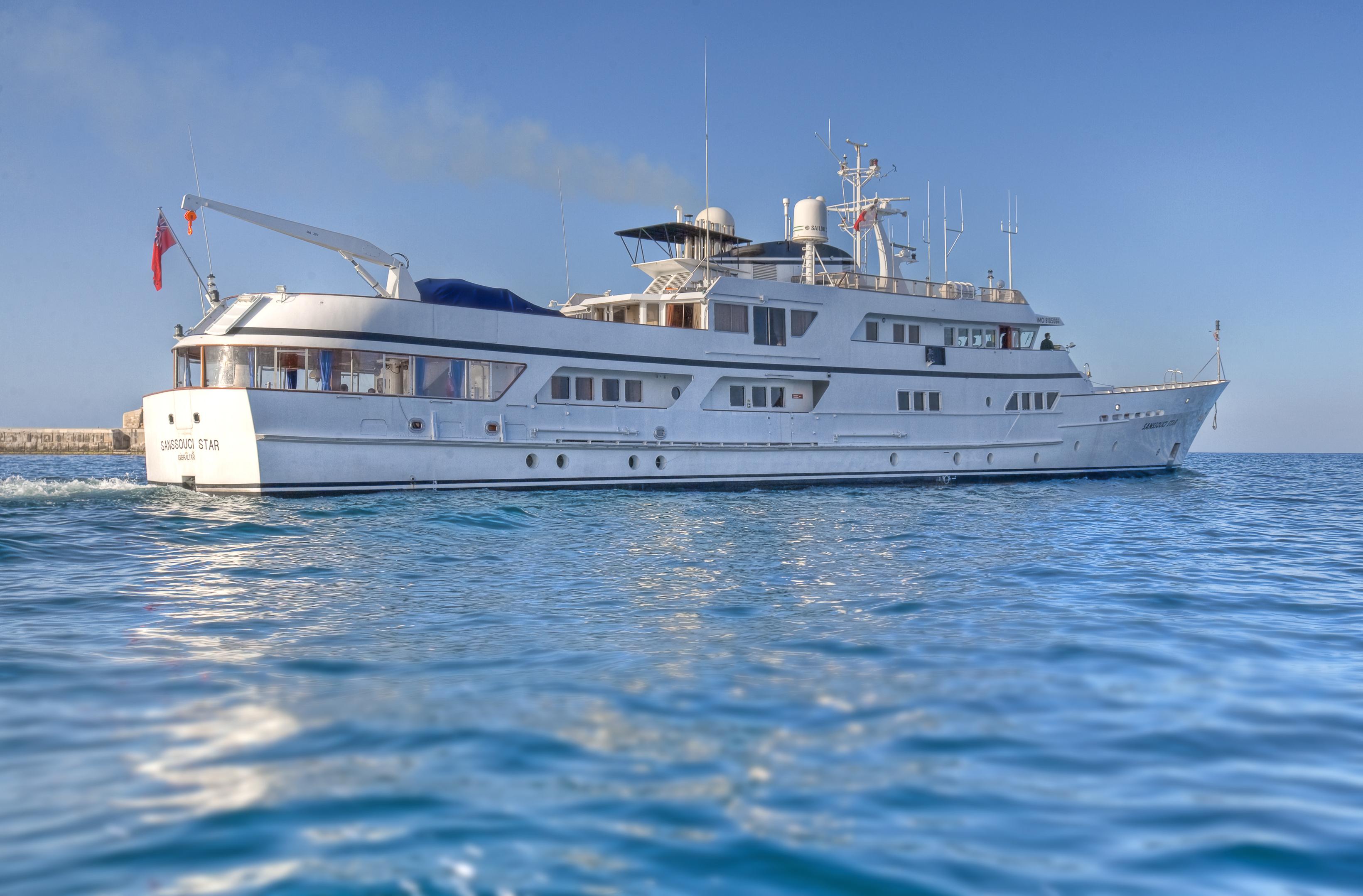 Yacht SANSSOUCI STAR - Underway