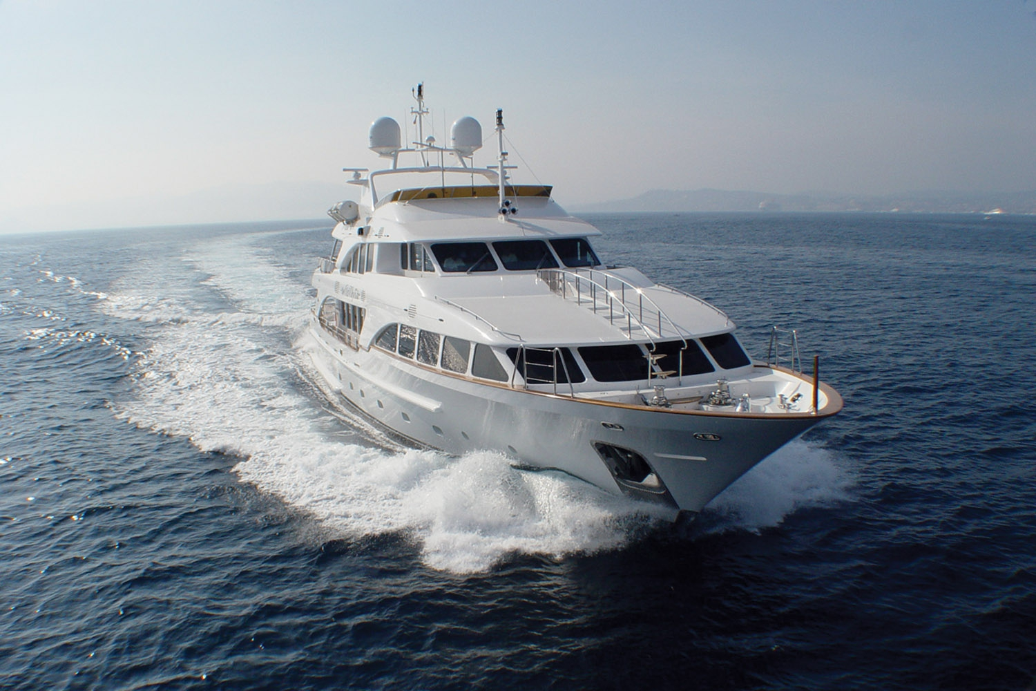 Yacht WILD THYME By Benetti - Bow