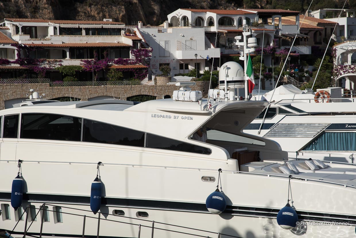 Yacht View Port Side
