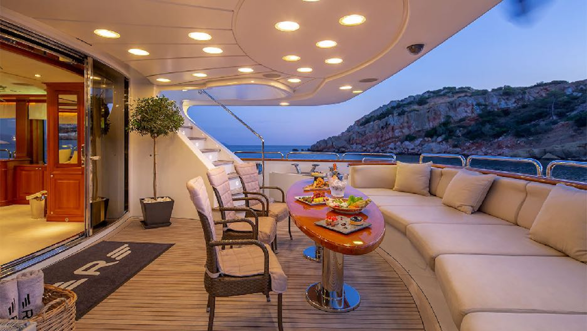 Aft Deck In The Evening