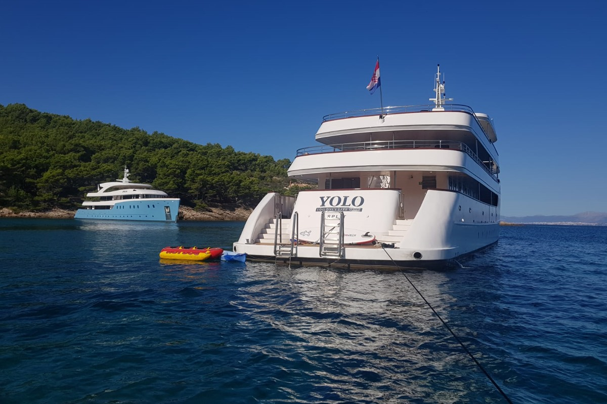 Aft View - At The Back Motor Yacht OHANA
