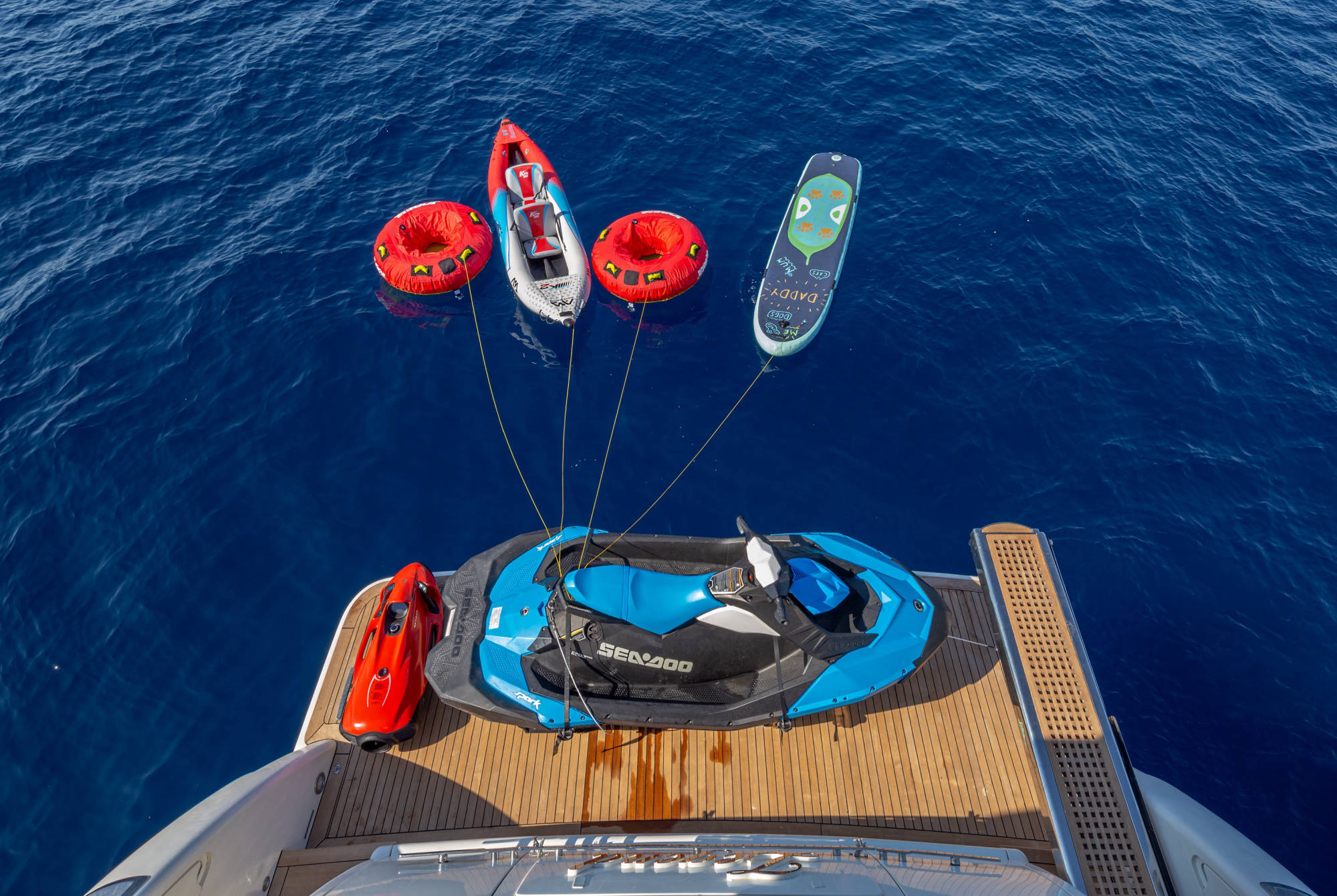 Aft With Water Toys
