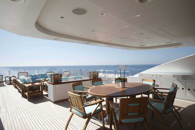 Al Fresco Dining And Lounges On The Sun Deck