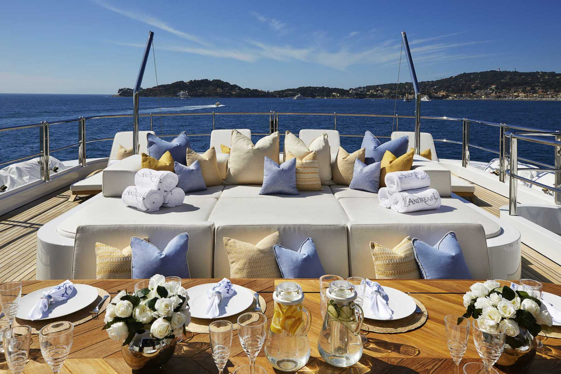 Alfresco Dining And Sunbathing Area