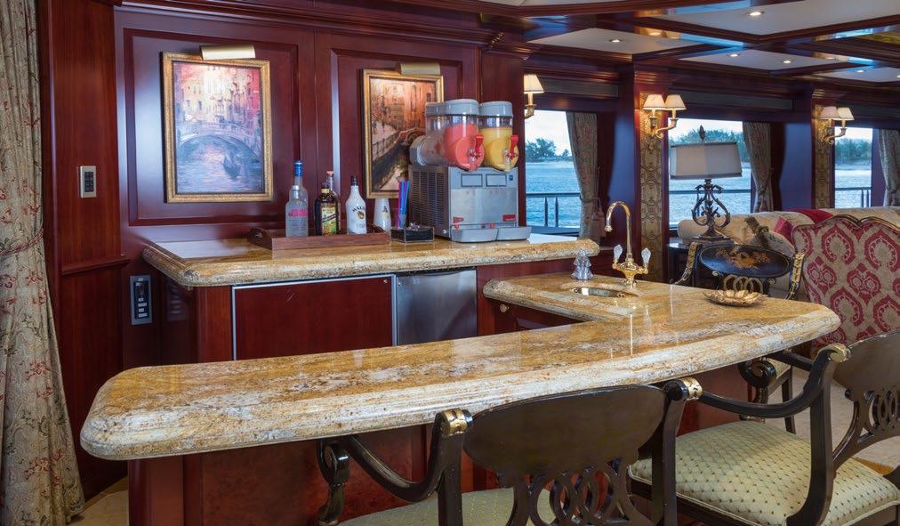 Bar In The Main Saloon
