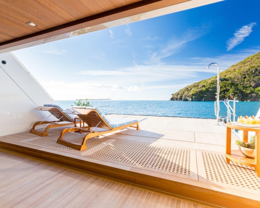 Beach Club With Sunbeds