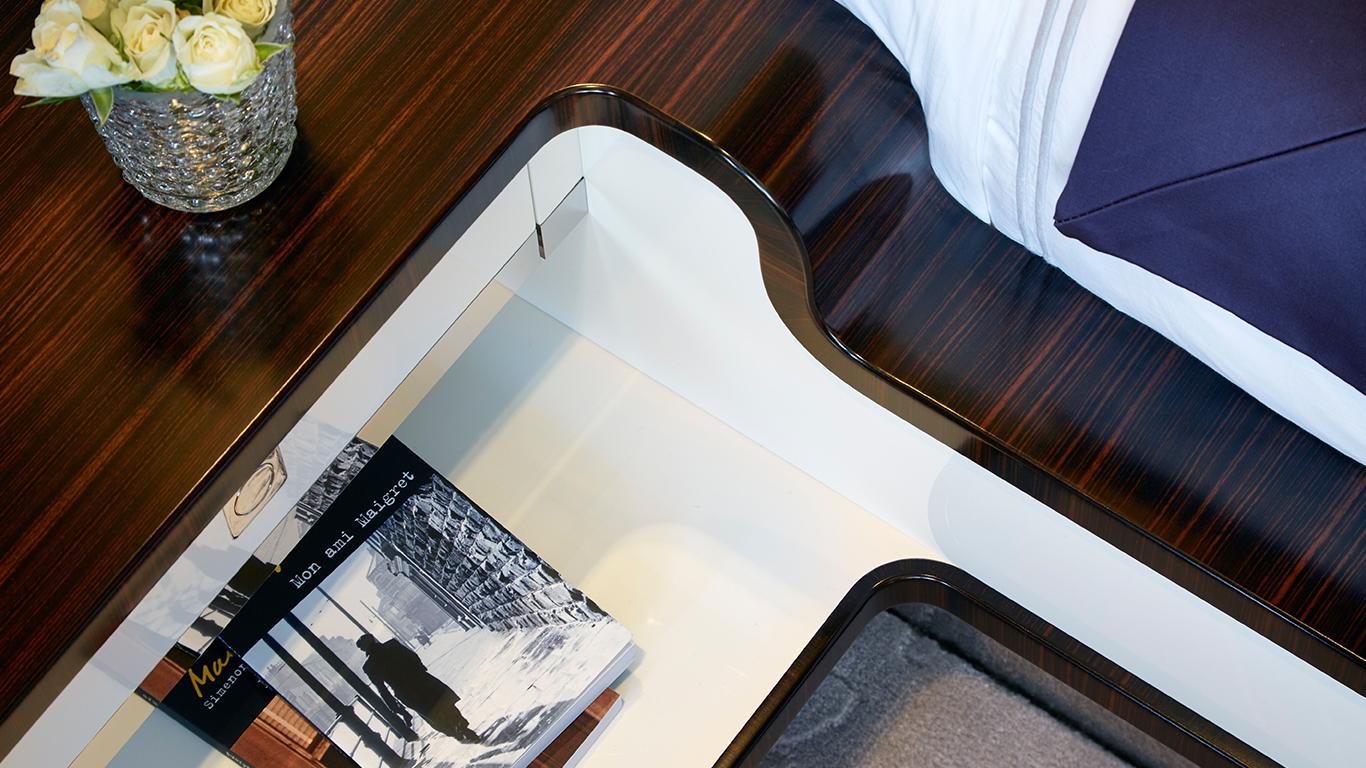 Bedside Table Detail