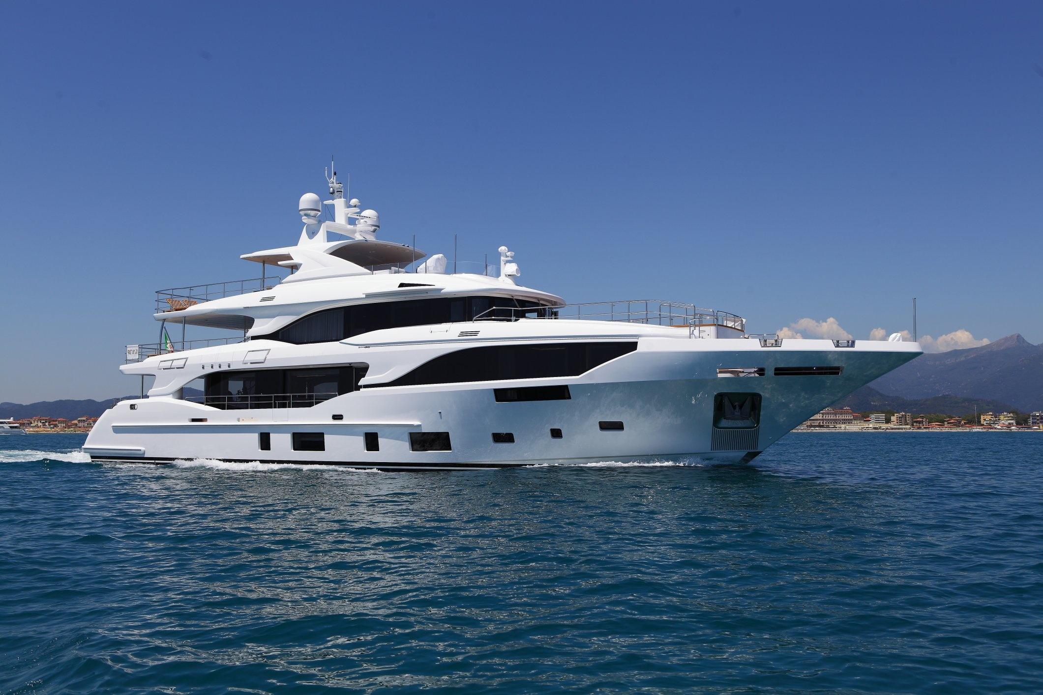 Benetti Launches First Mediterraneo 116 Motor Yacht