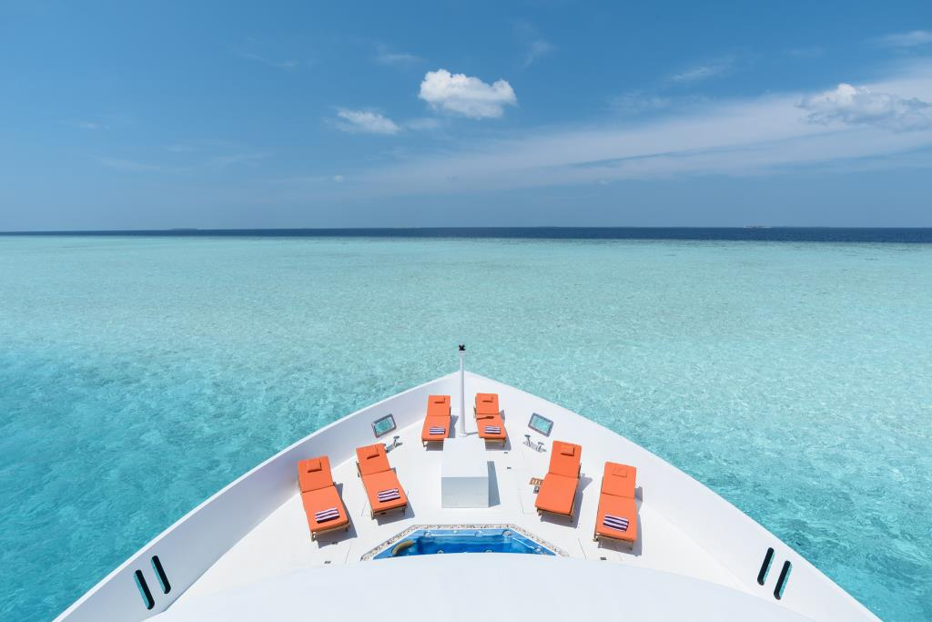 Bow In The Maldives