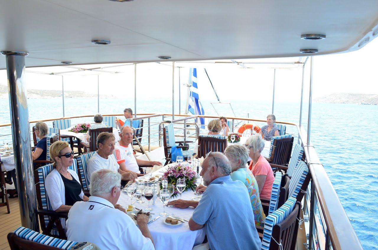 Callisto Outdoor Dining Area Upper Deck