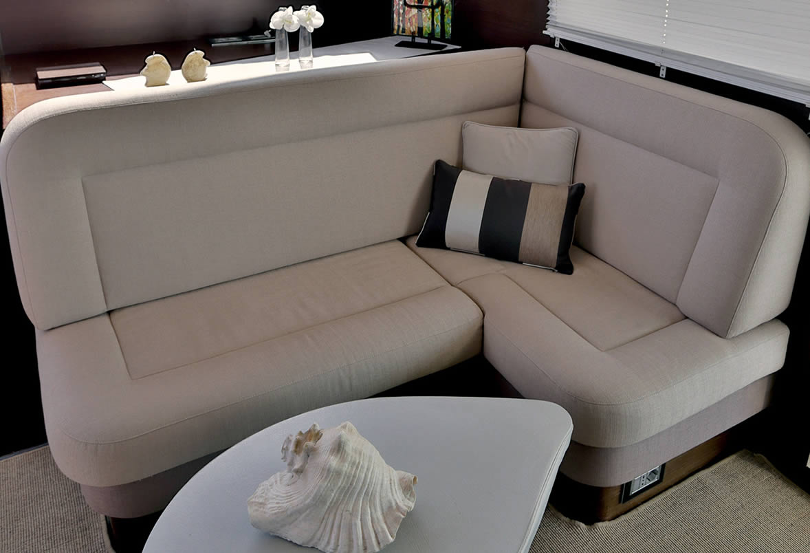 Charter Yacht Anassa Saloon Seating