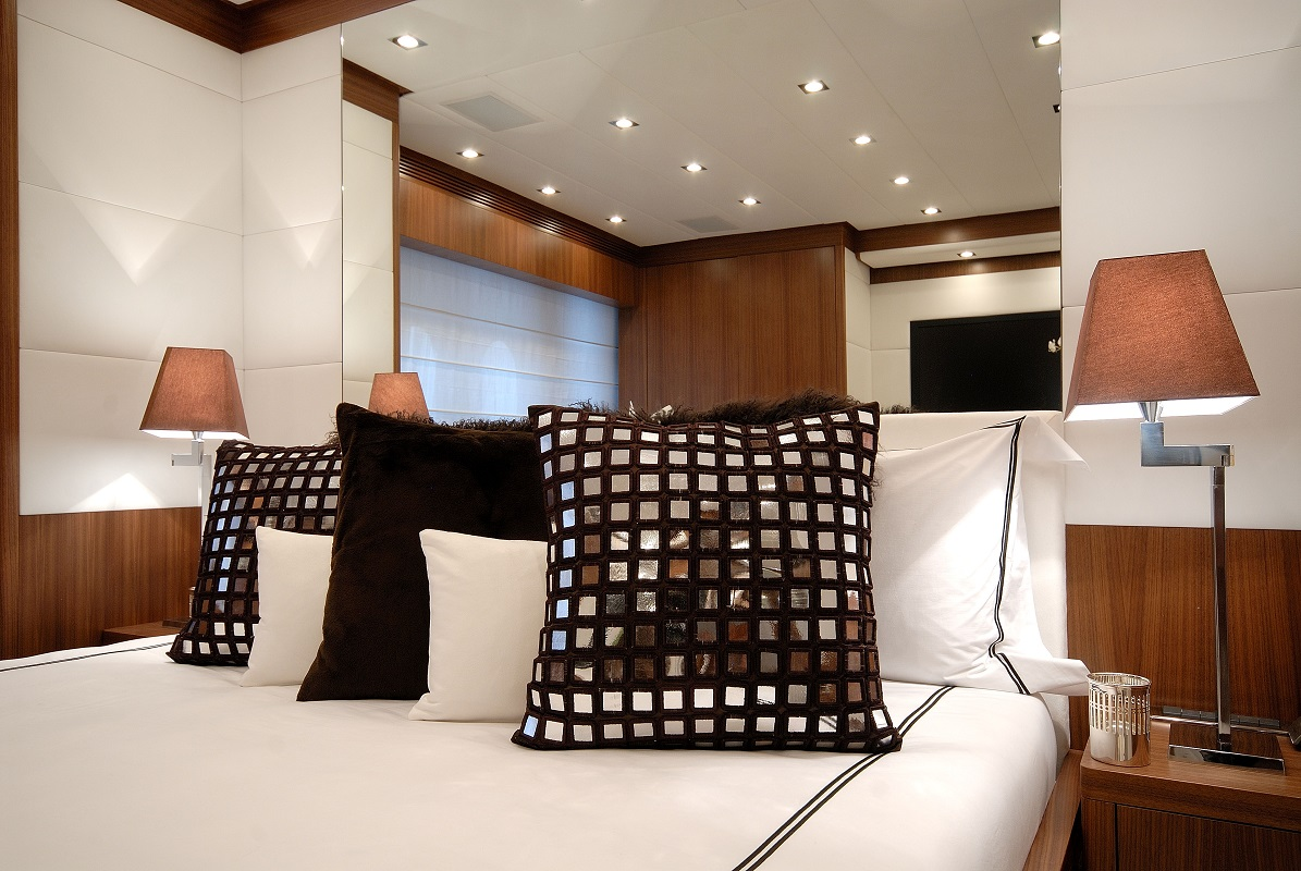 Cushions In Double Cabin