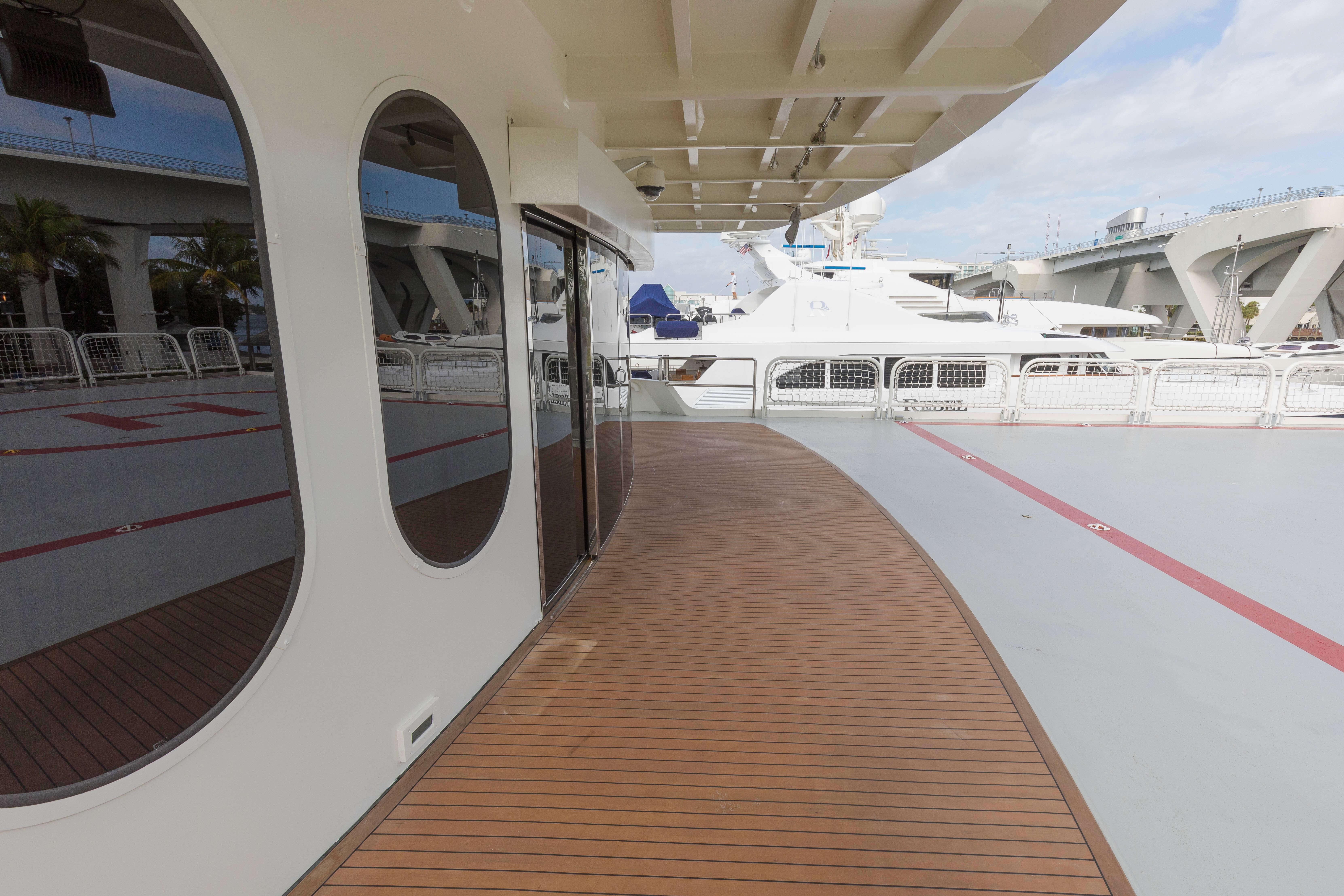 Deck With Helipad