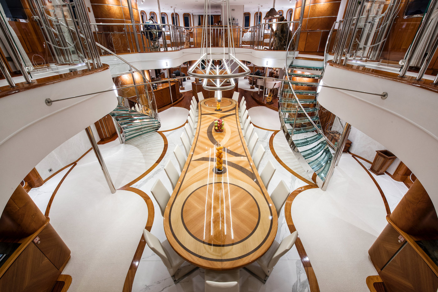 Dining Table From Above