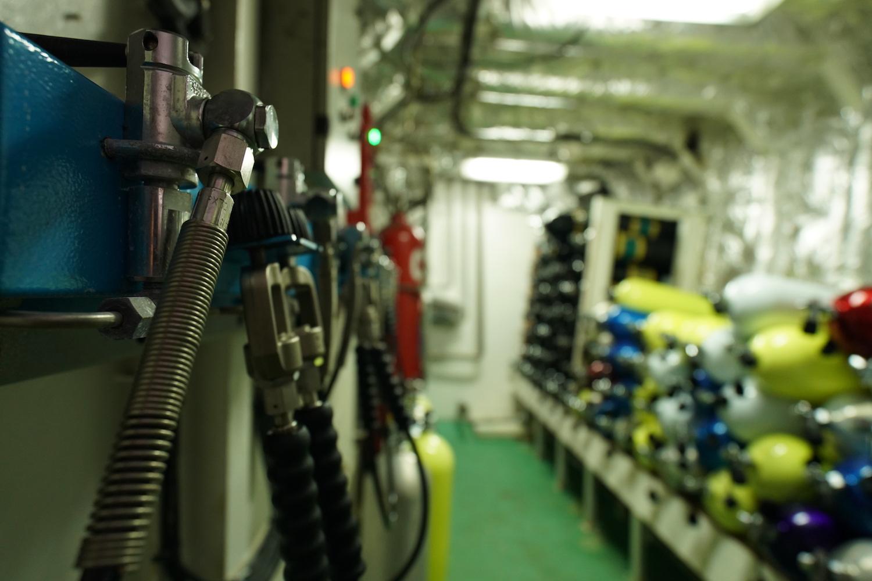 Dive Equipment Storage Detail