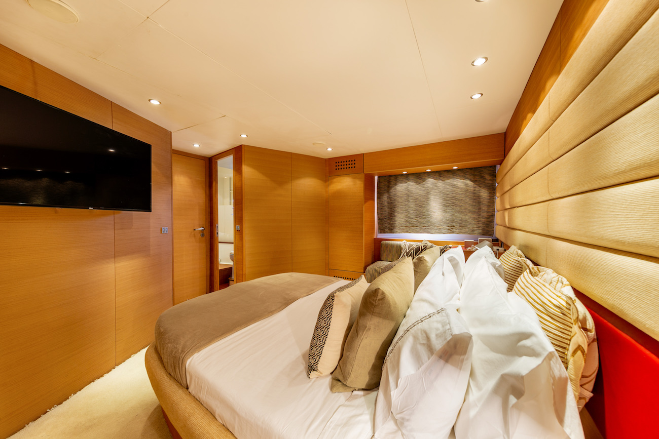 Master Cabin Detail With TV