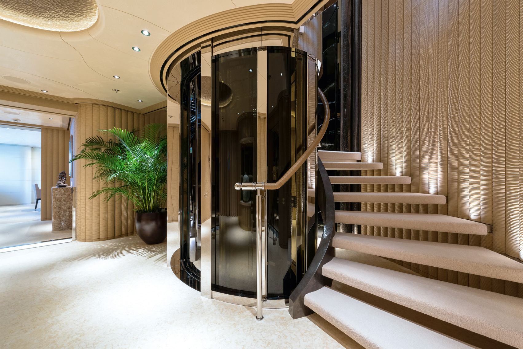 Elevator And Stairwell