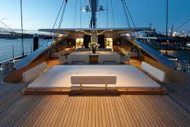 Exterior Deck Areas After Sunset