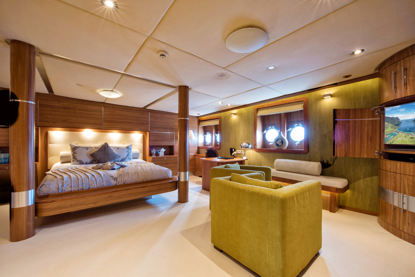 Fabulous Staterooms For Guests