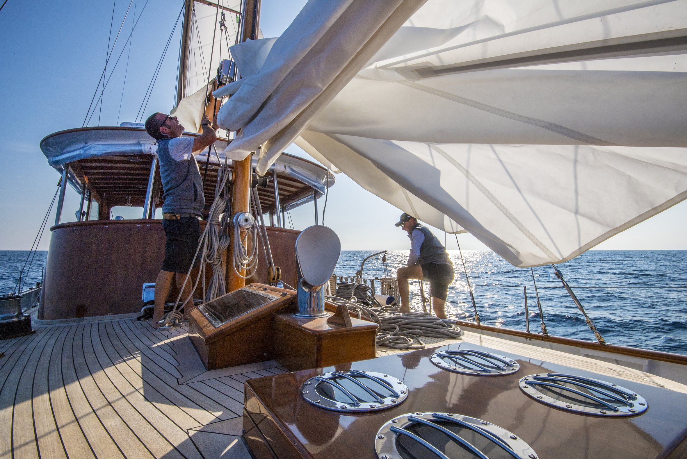 Fantastic Sailing Charter Experience With Professional Crew