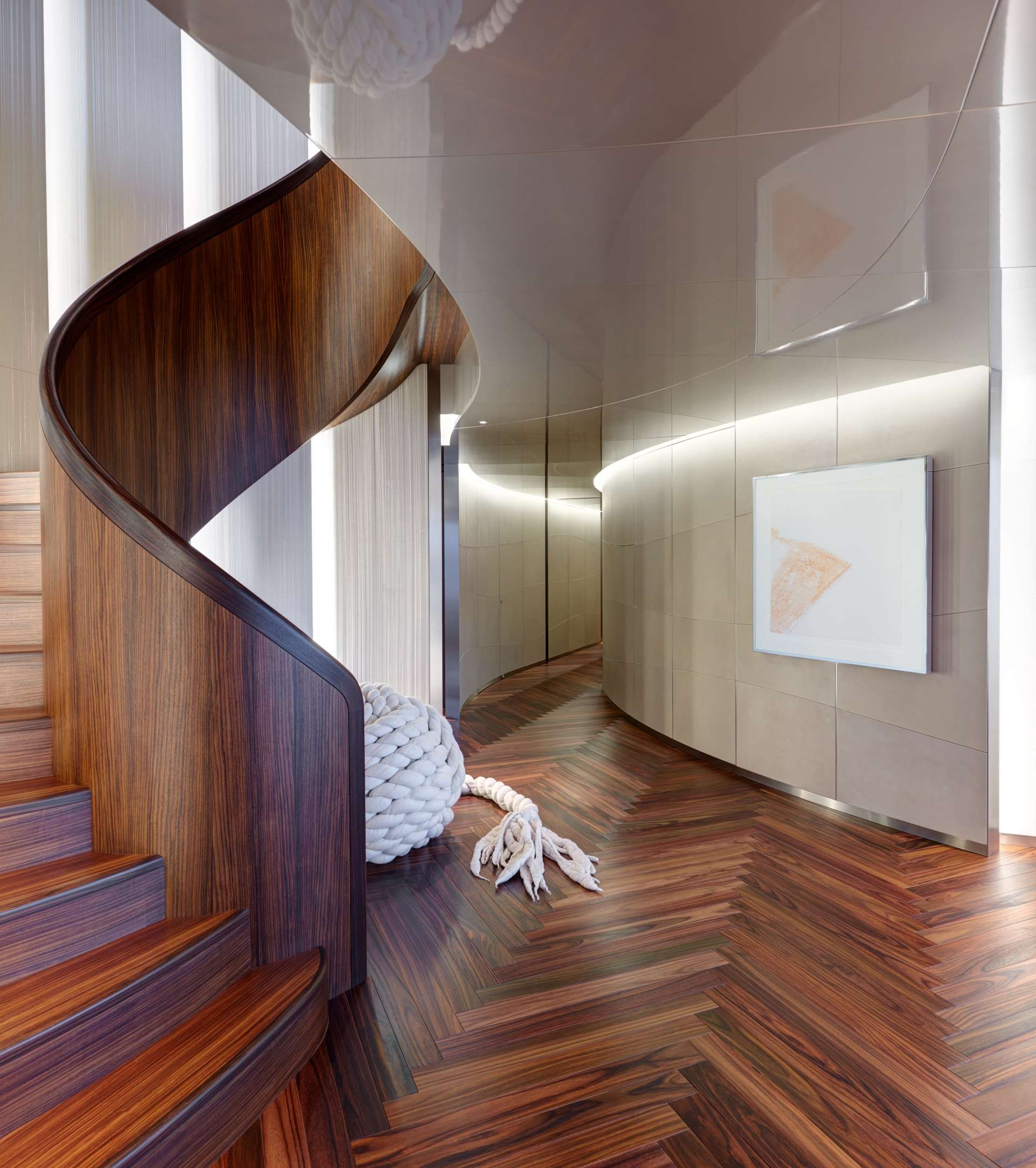 Foyer With Stairwell