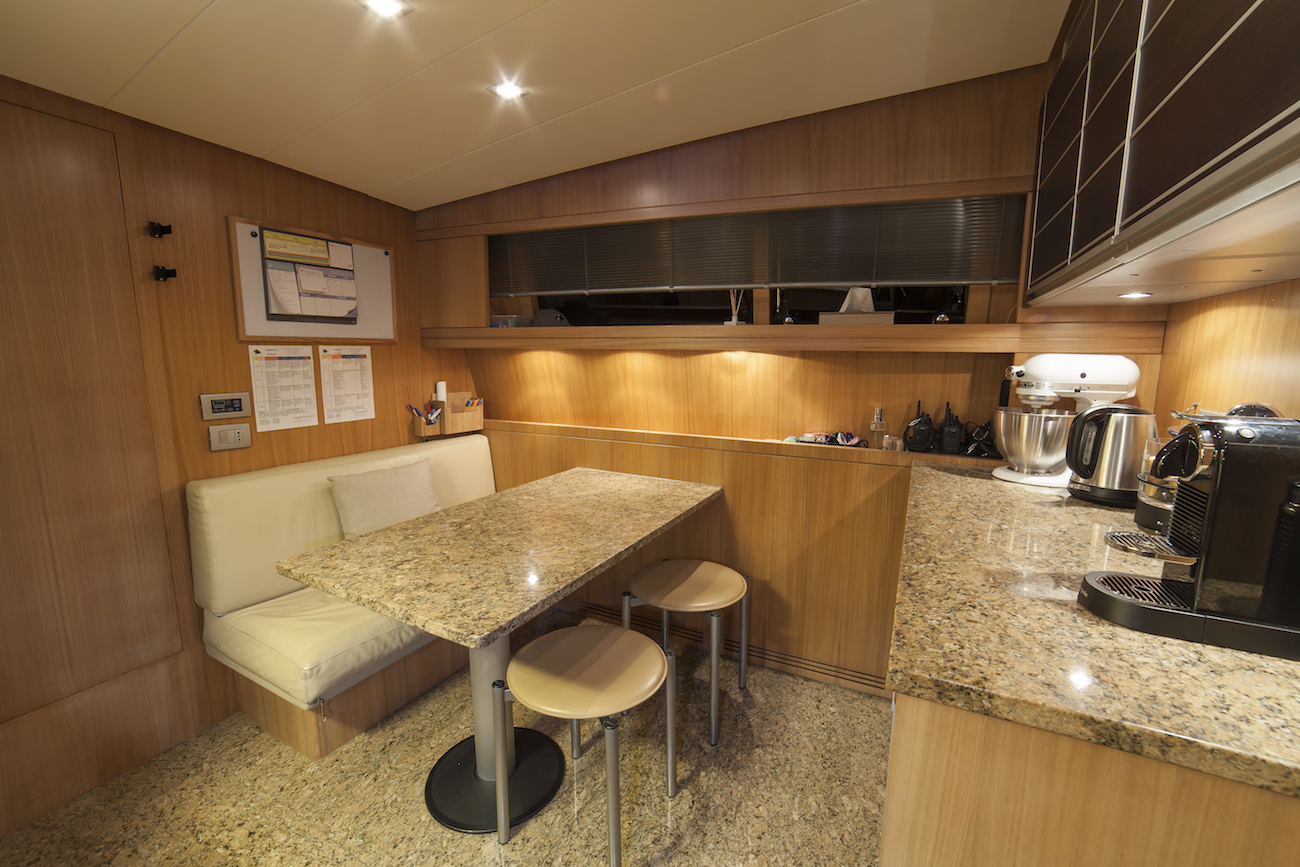 Galley Seating