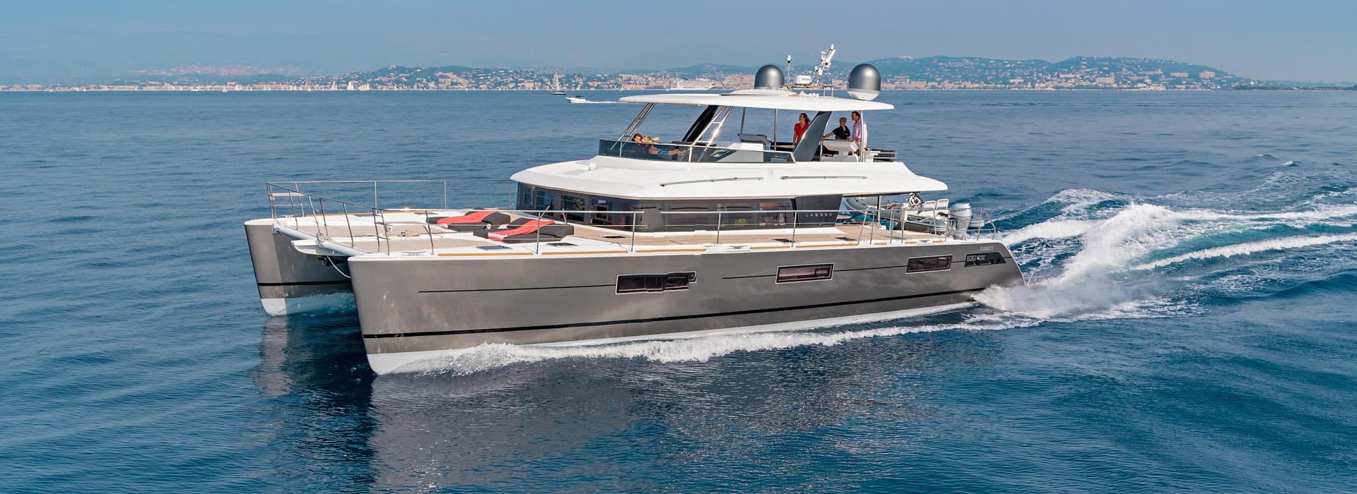 Lagoon catamaran VIGILANT 1 - Main shot