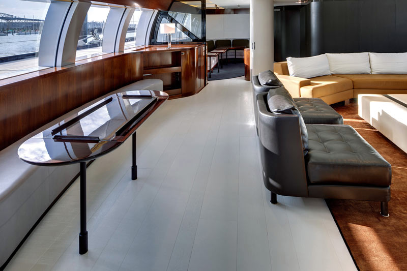 Inside The Sailing Yacht