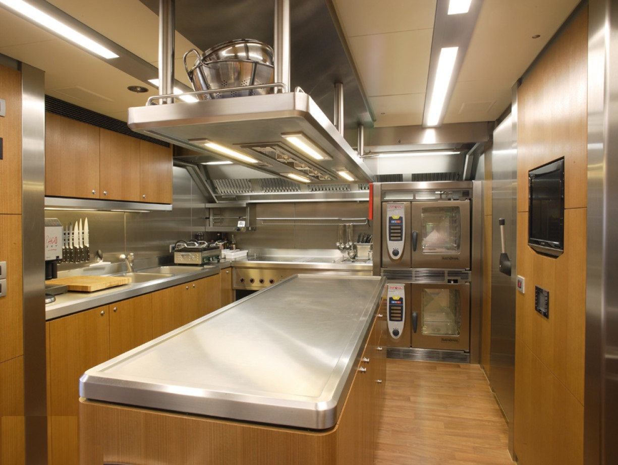 Galley Image Gallery Luxury Yacht Browser By