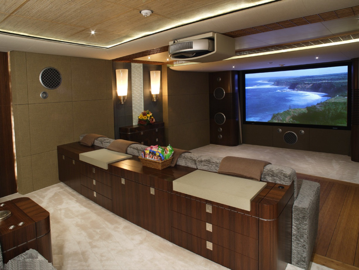 Large Screen With Comfortable Seating