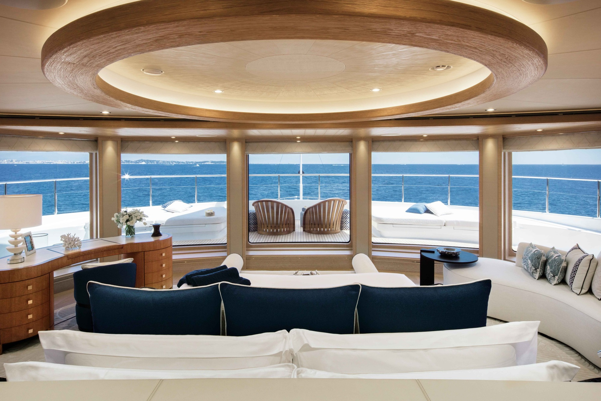 Looking At Private Deck Area From Owner Suite