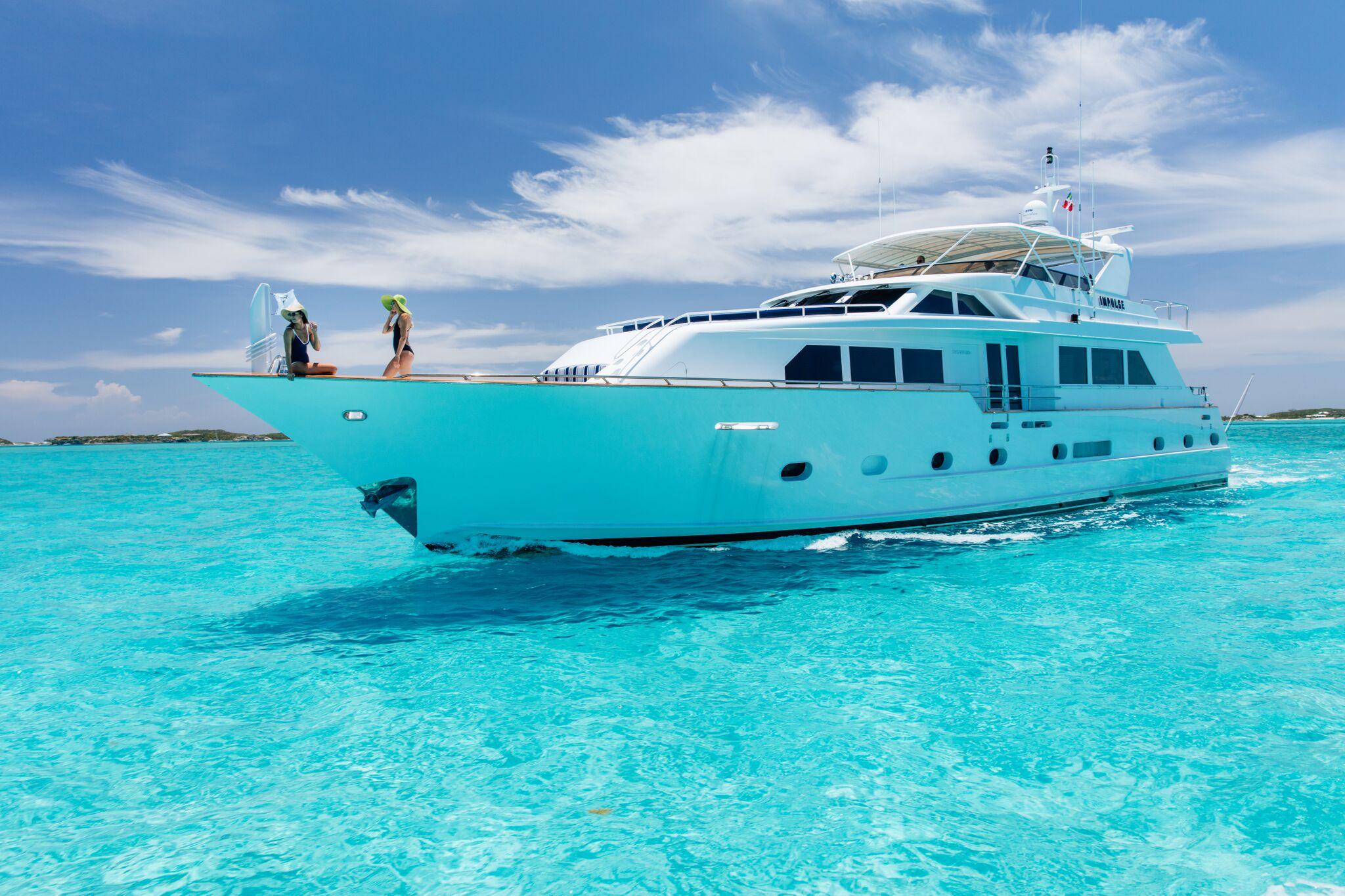 IMPULSE Yacht Charter Details, Broward Marine ...