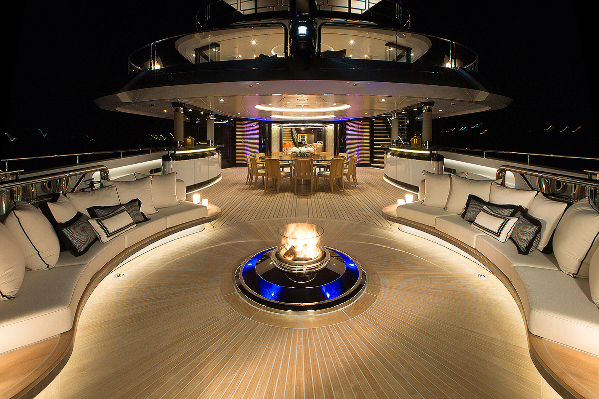 Main Deck Aft By Night
