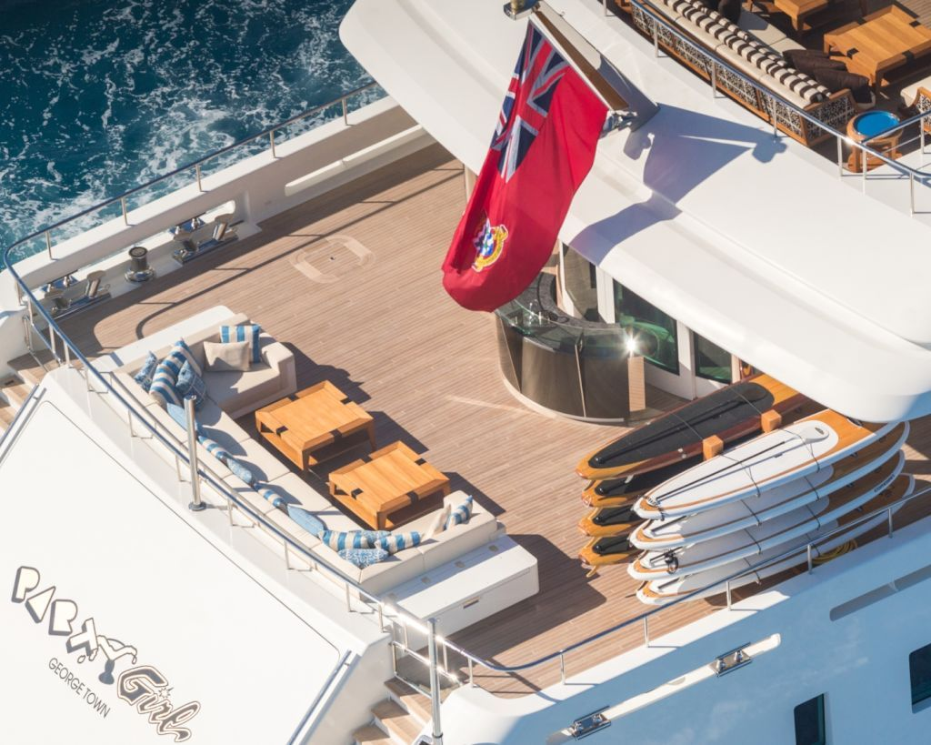 Main Deck Aft Deck Aerial View