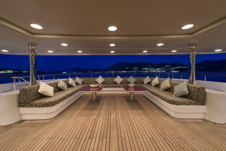 Main Deck Aft With Large Sofa