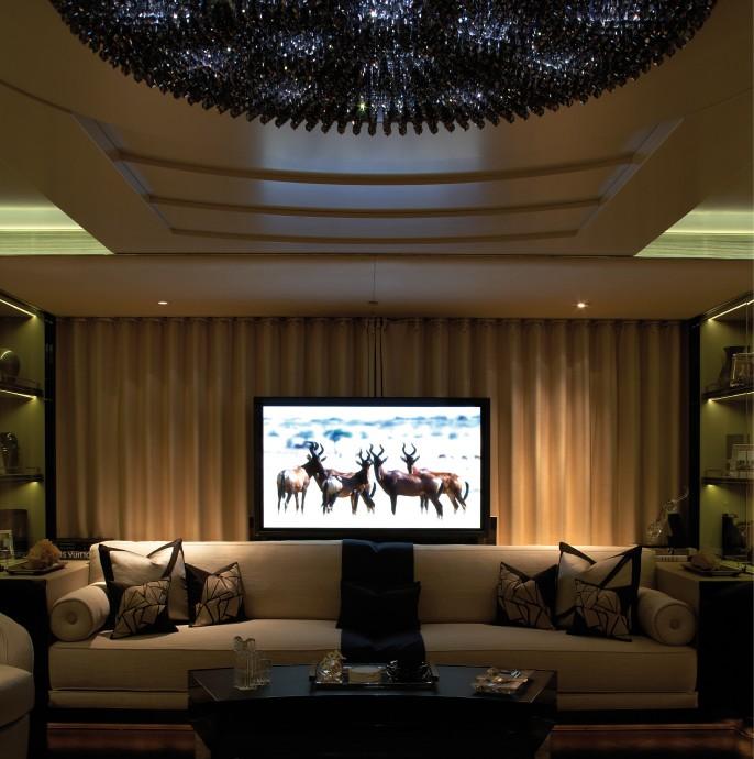Main Saloon TV