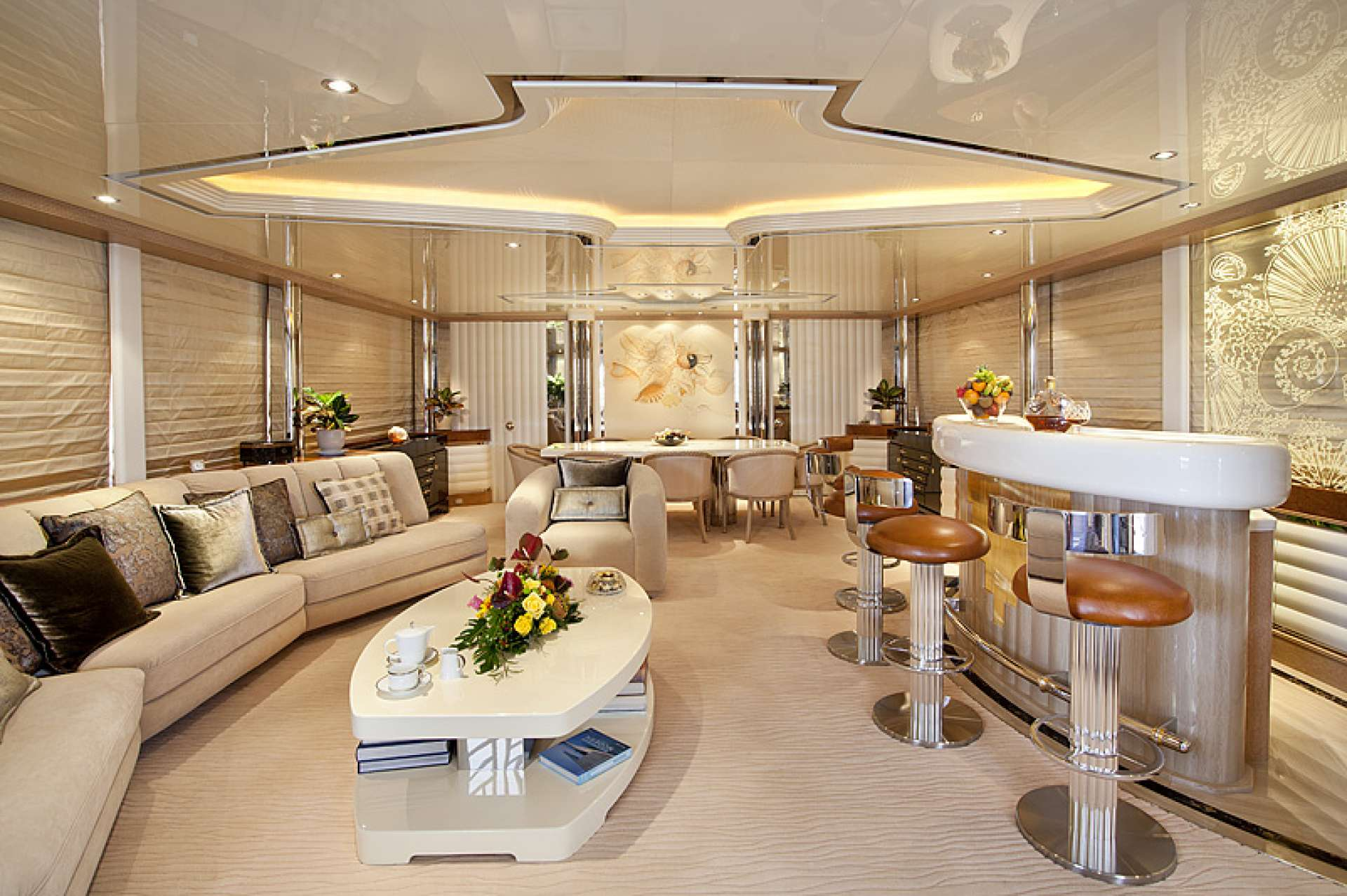Main Saloon With Dining Further Aft