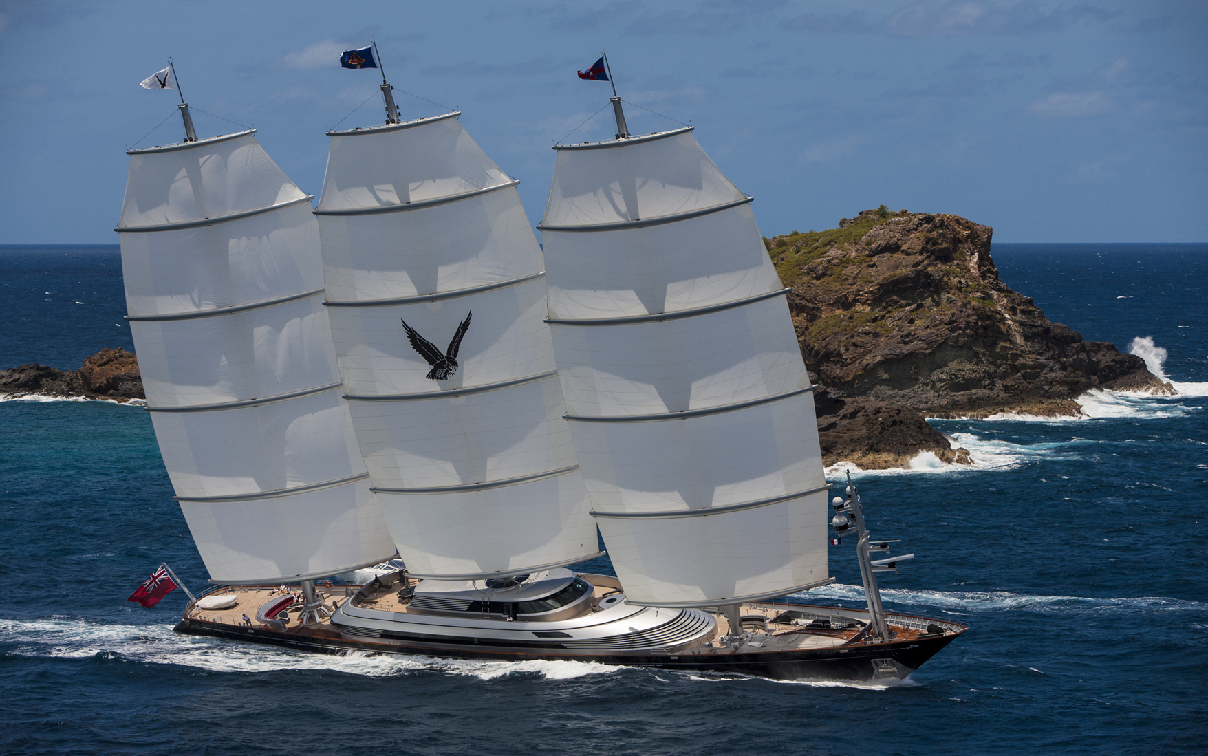 Maltese Falcon By Dykstra Naval Architects