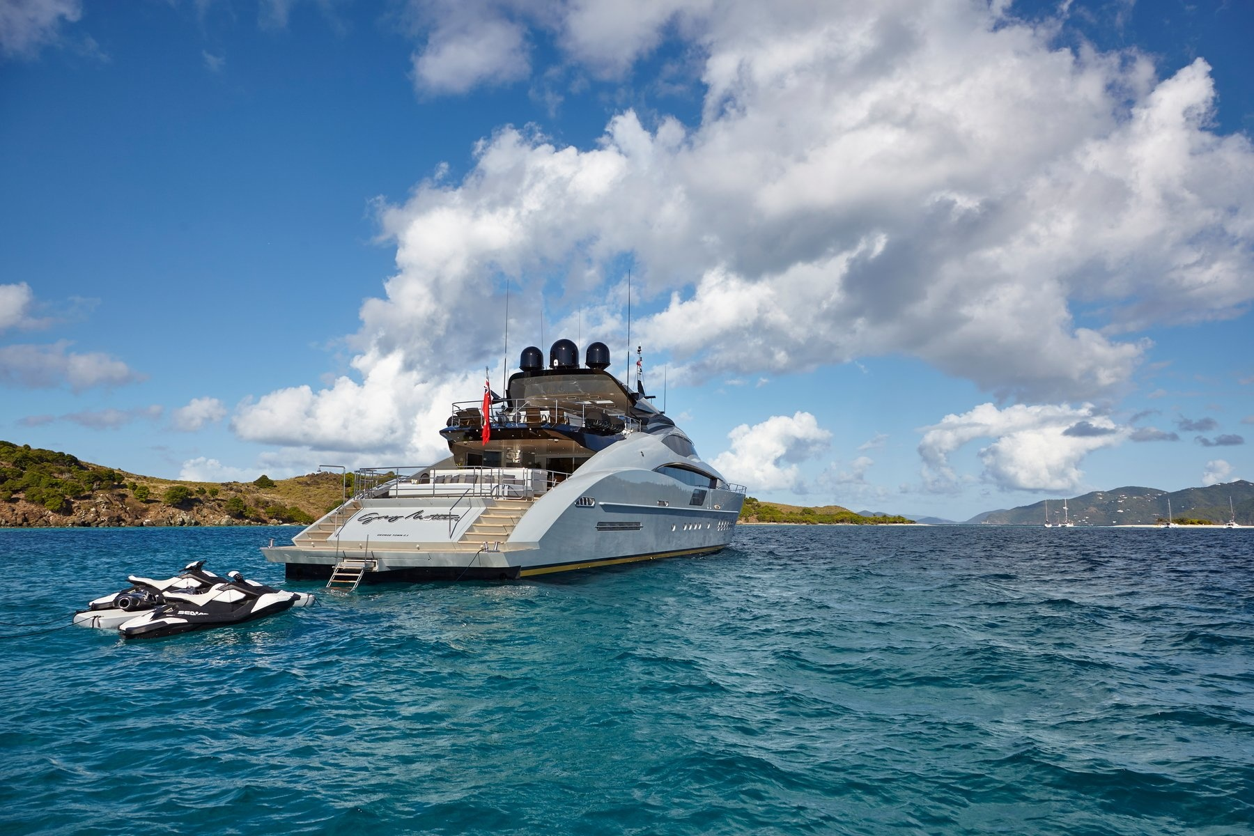 Palmer Johnson Superyacht Grey Matters (sistership)