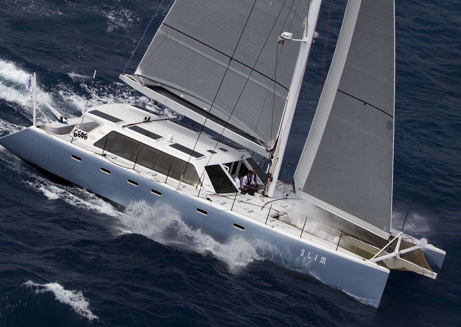 Sailing Profile Aerial View