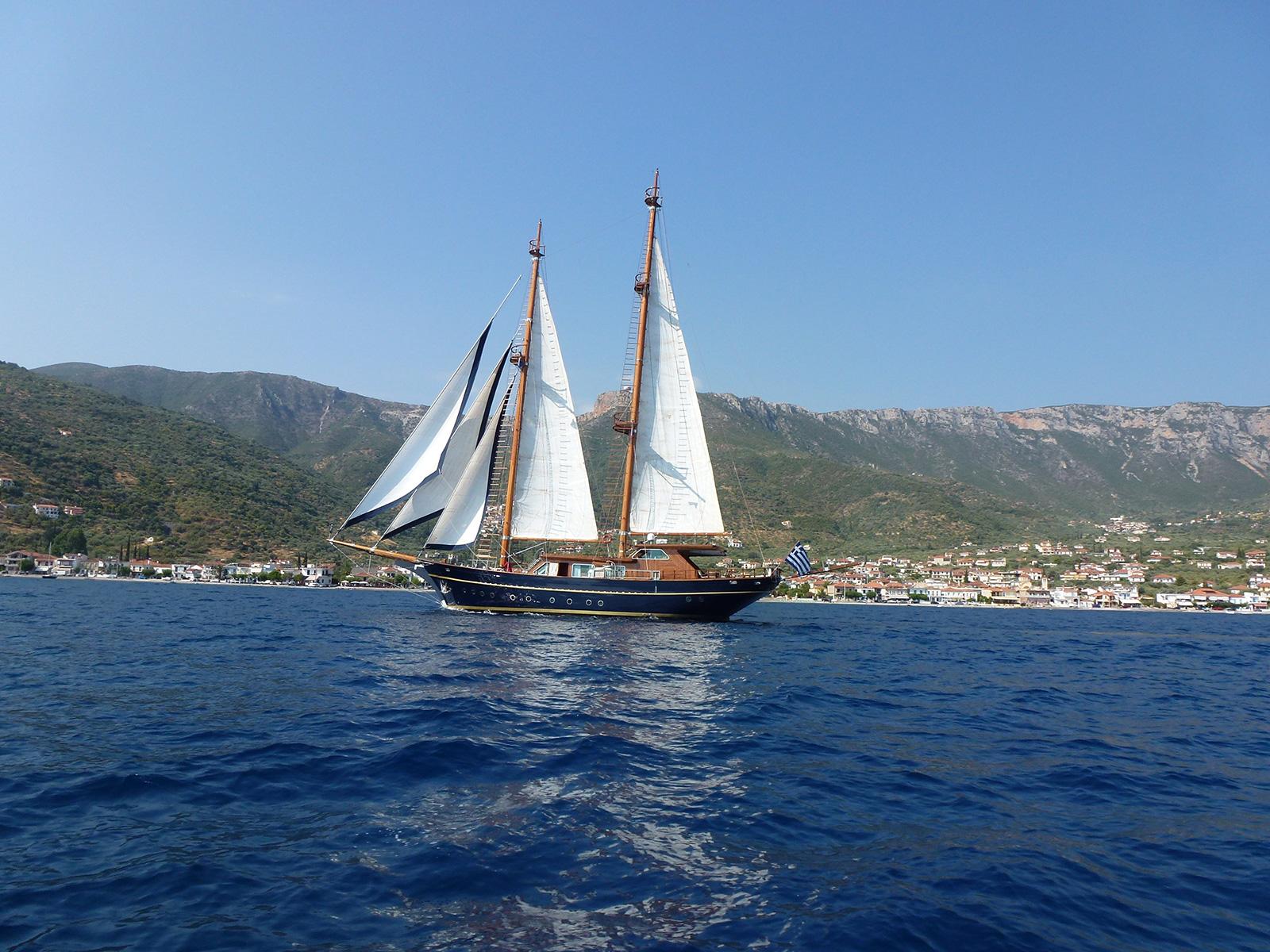 Sailing Yacht BLUE DREAM