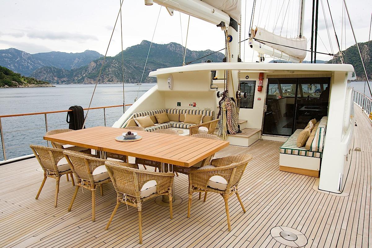 Sailing-nour Aft Deck