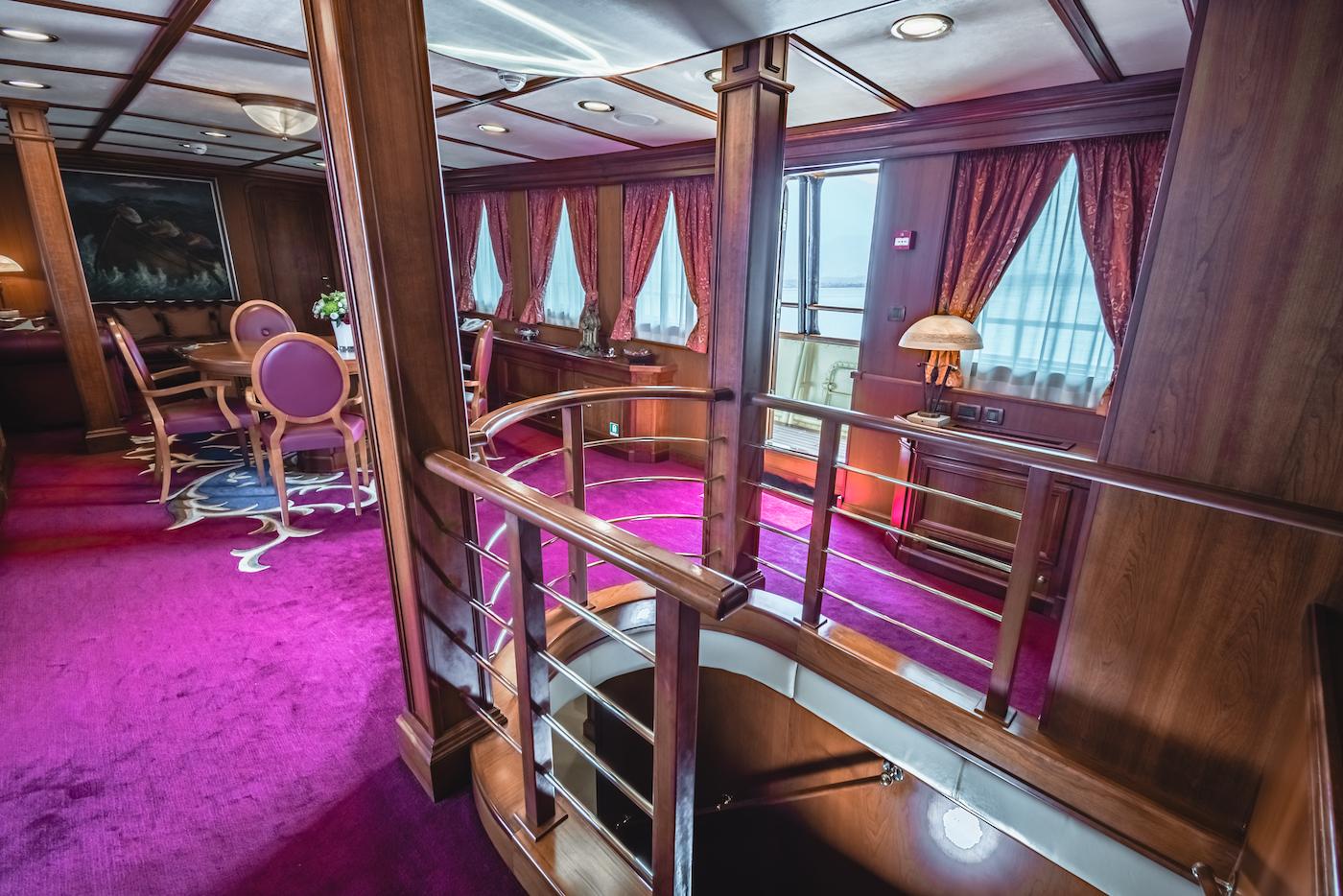 Saloon - Interiors