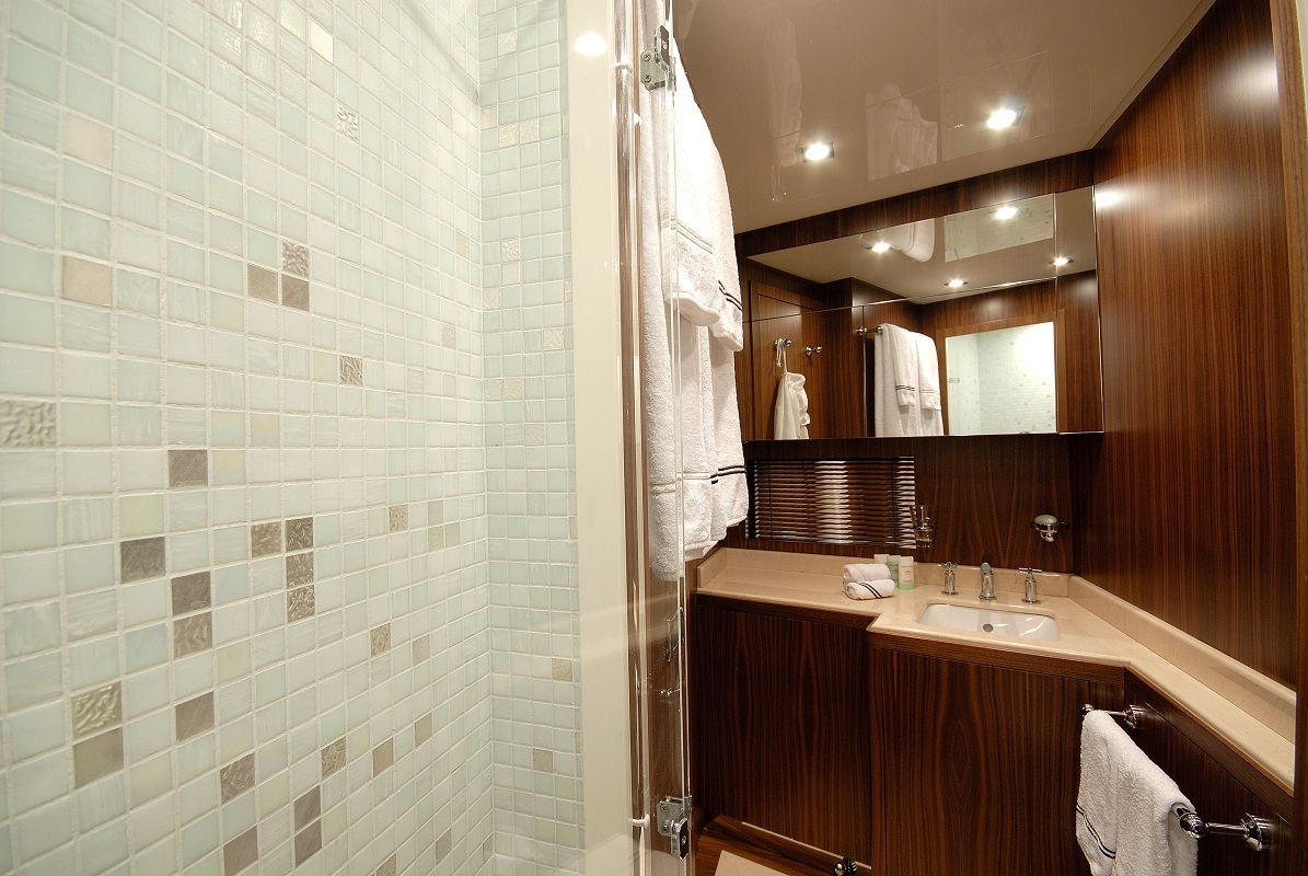 Shower In The Bathroom -