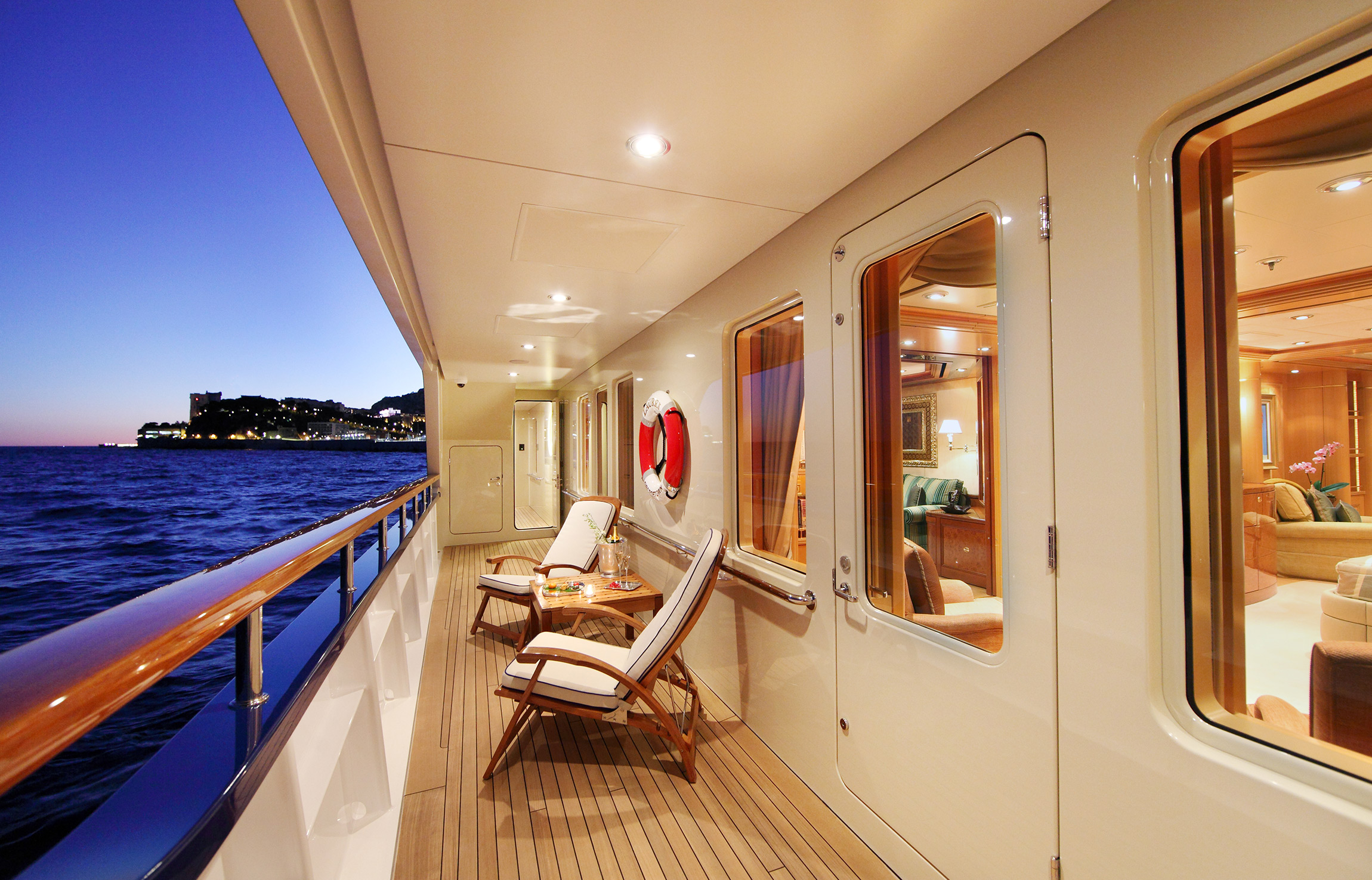 Side Deck Seating