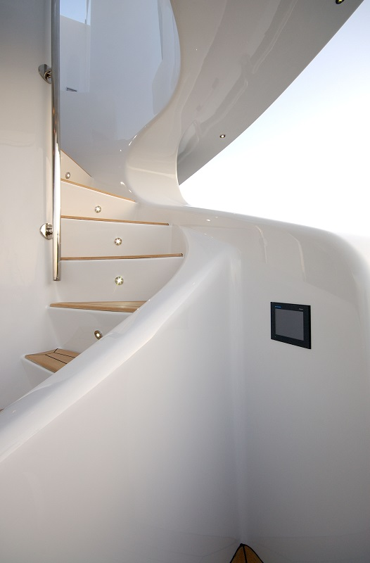 Stairs From Aft Deck