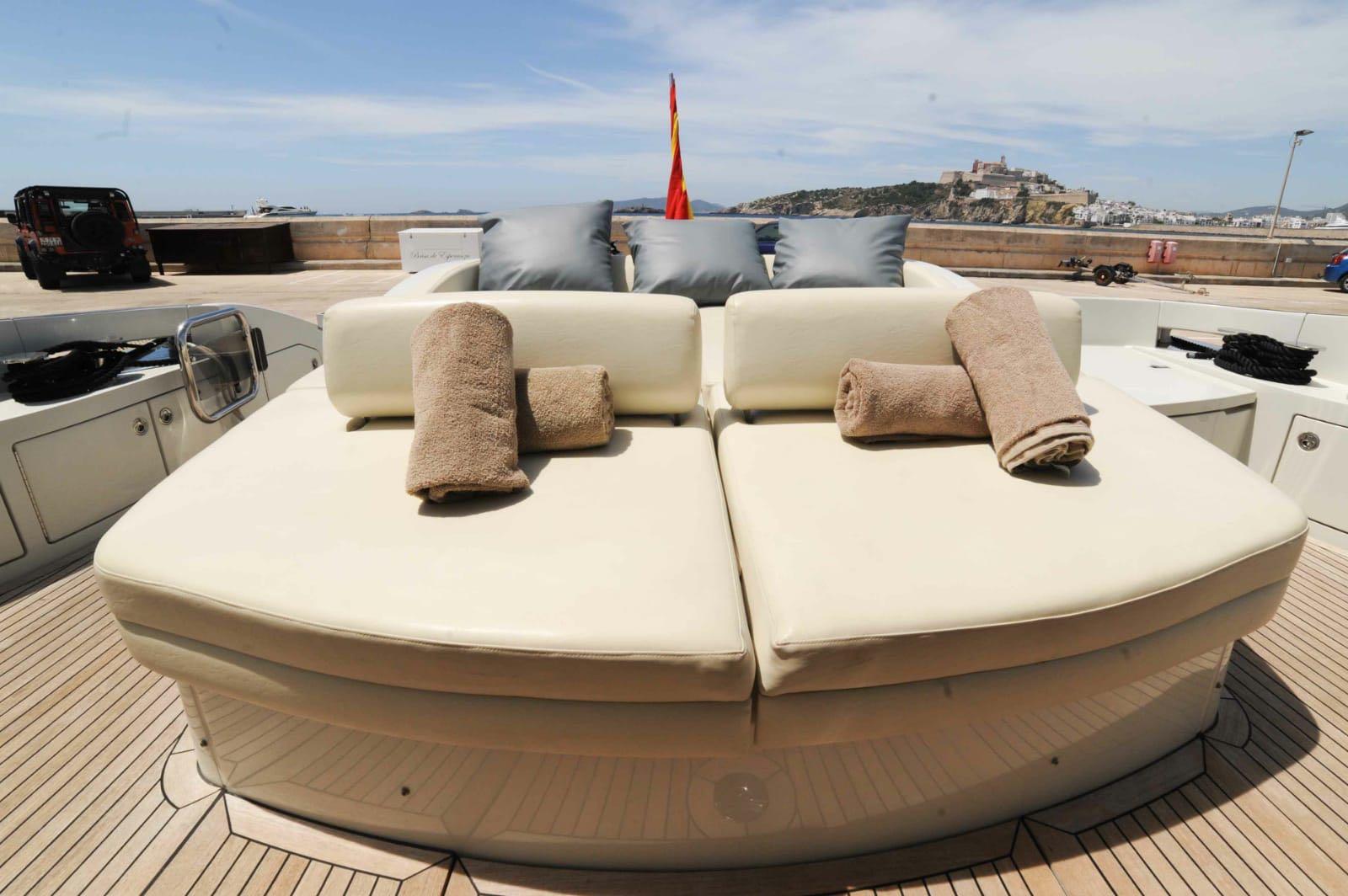 Sunbathing Area On Board