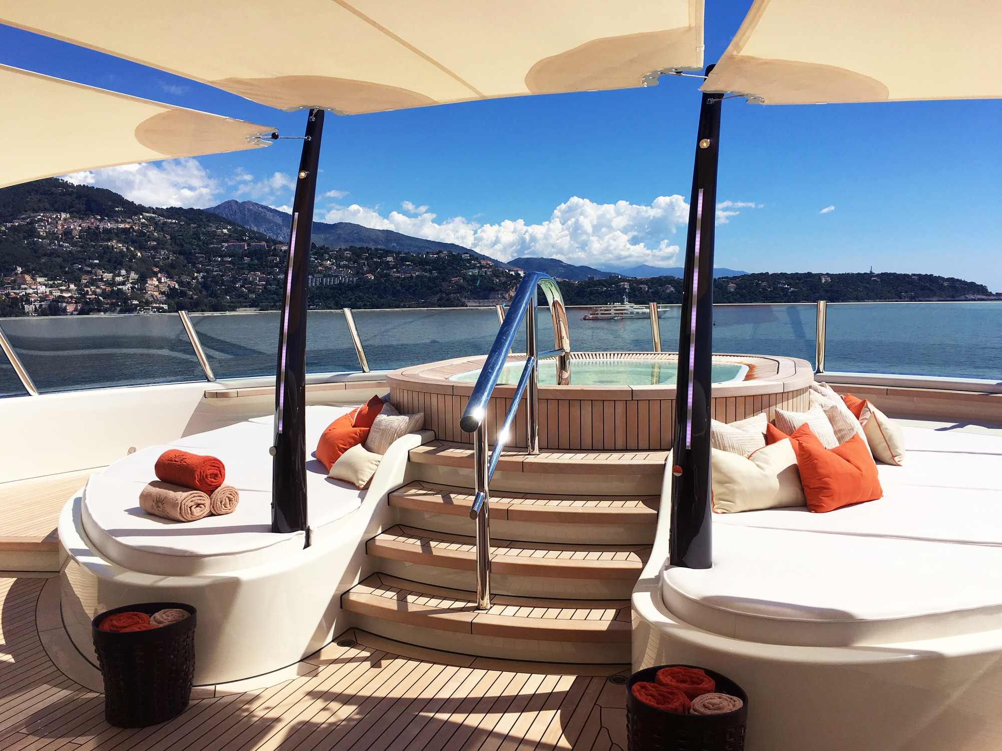 Sundeck And Jacuzzi
