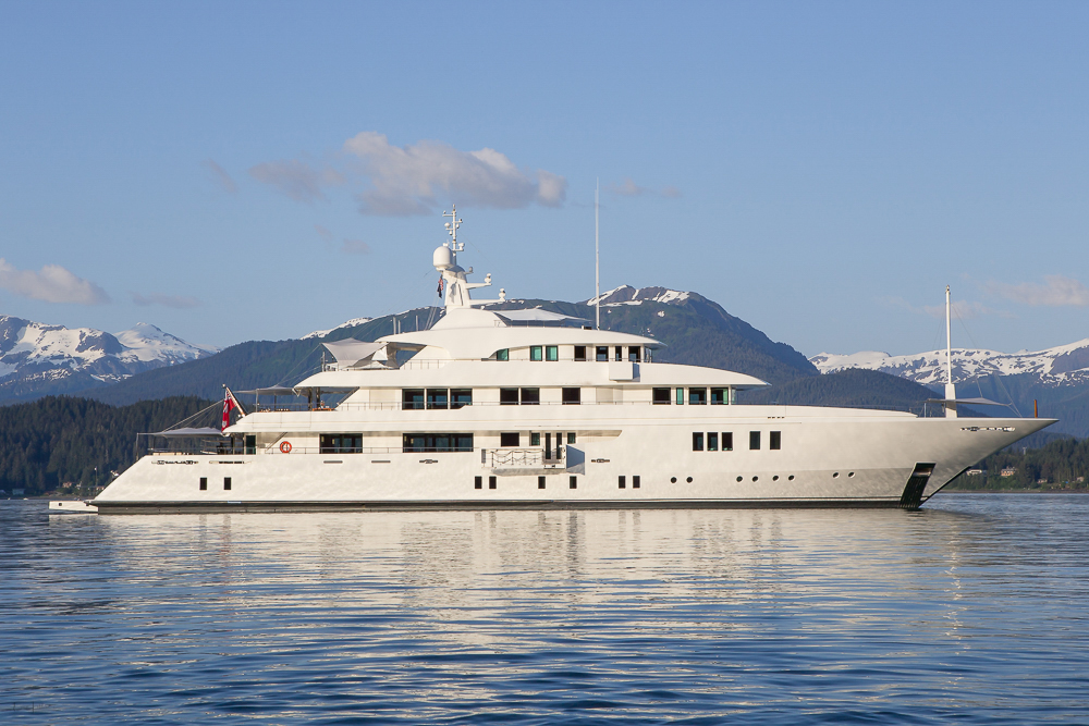 Superyacht Profile At Anchor