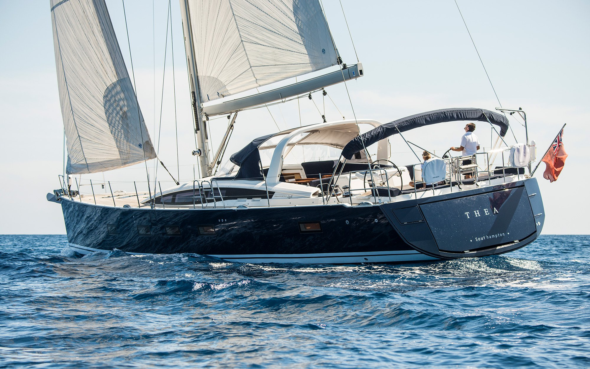Jeanneau sailing yacht THEA - Main shot